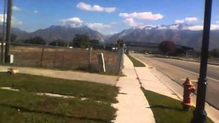 Leaving South Jordan, Utah