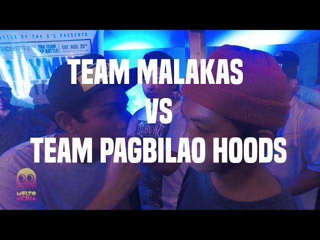 RHYMING IN TANDEM: TEAM MALAKAS VS TEAM PAGBILAO HOODS
