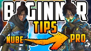 20 BEGINNER TIPS TO MAKE YOU A PRO IN APEX LEGENDS | BEGINNER GUIDE