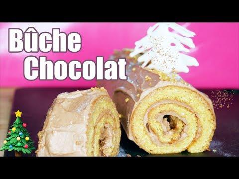 bûche-de-noël-au-chocolat-facile-🎄