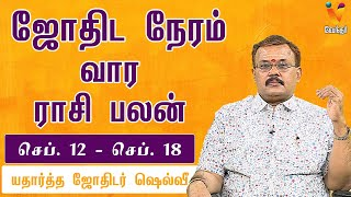 Weekly Rasi Palangal-Vendhar tv Show-Jodhida Neeram