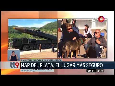 Mar del Plata, el lugar más seguro... si Norcorea lanzara su misil más potente