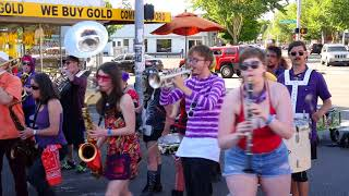 "Honk!Fest West 2018-- Rise UP! Action Band ""War Pigs"""