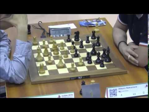 Hikaru Nakamura vs Wang Hao World Dubai Chess Blitz 2014