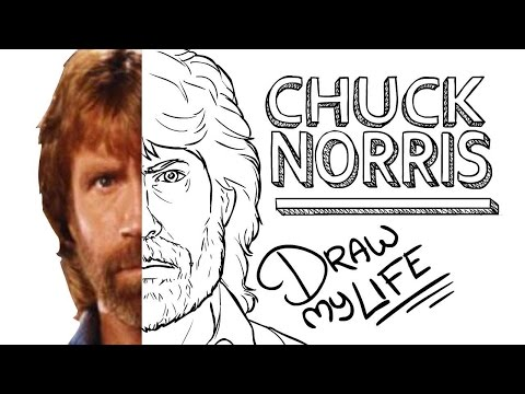 CHUCK NORRIS (RANGER DE TEXAS) | Draw My Life En Español