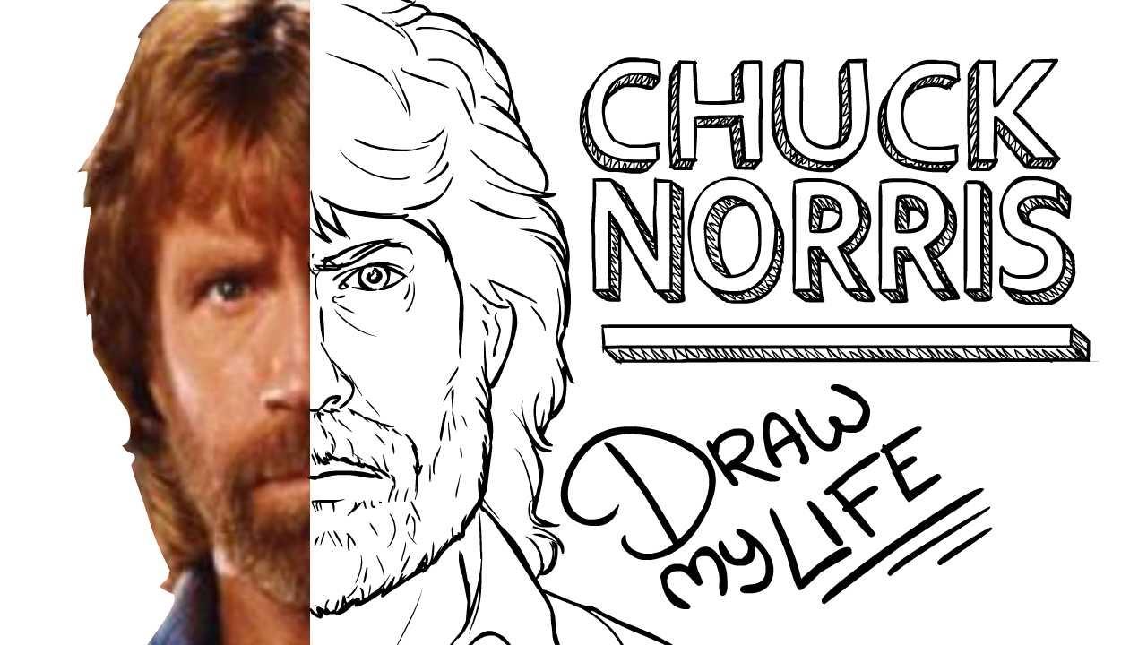 CHUCK NORRIS (RANGER DE TEXAS) | Draw My Life