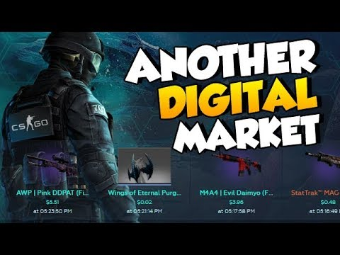 What other CS:GO market can we go to now? (DMarket) + Giveaway