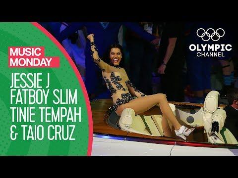 Jessie J, Taio Cruz, Tinie Tempah and Fatboy Slim Medley!  Music Monday