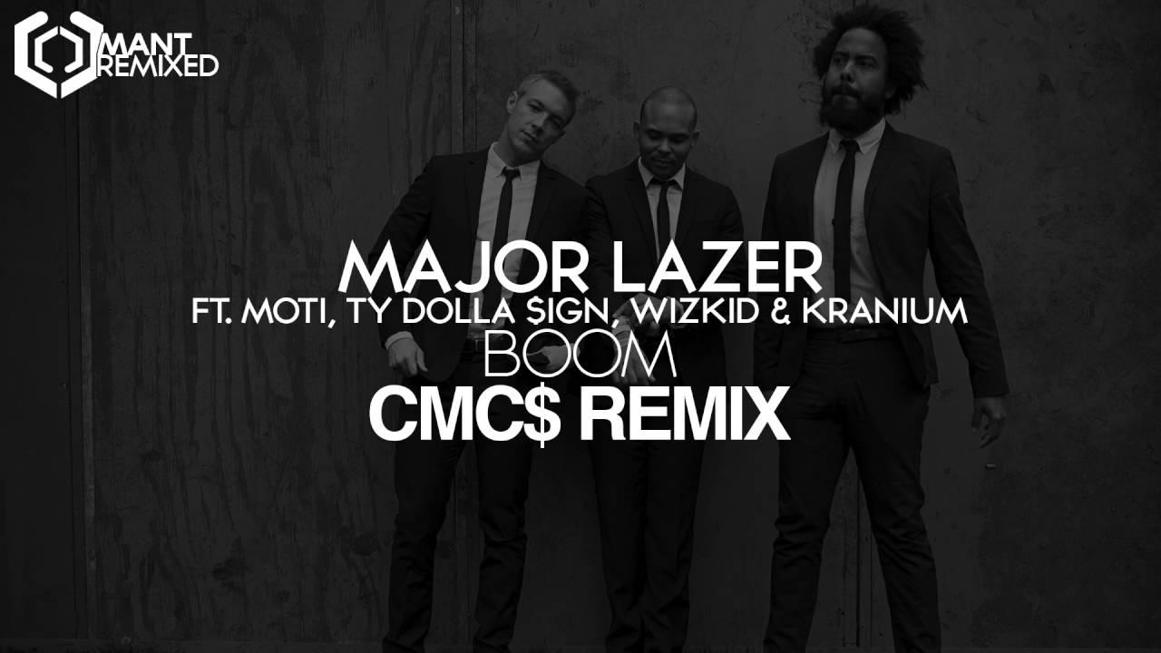 Major Lazer & MOTi - Boom (Feat. Ty Dolla $ign, Wizkid, & Kranium ...