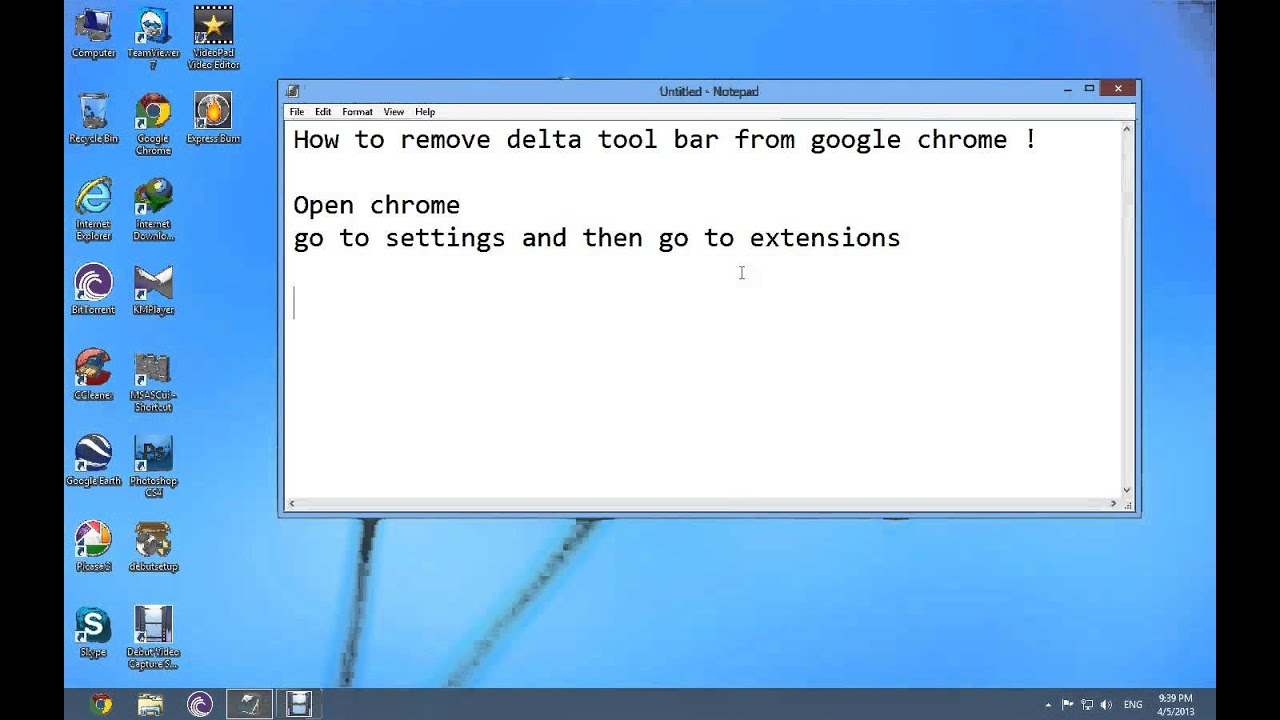 How to remove Delta Search homepage (Virus Removal Guide)