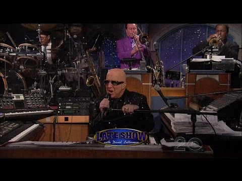 Paul Shaffer Late Show Final Performance