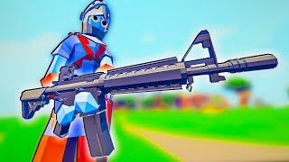 TABS Has Guns?! American and German Factions in Totally Accurate Battle Simulator