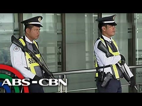 TV Patrol: Security personnel sa NAIA, armado na ng matataas na kalibre ng baril