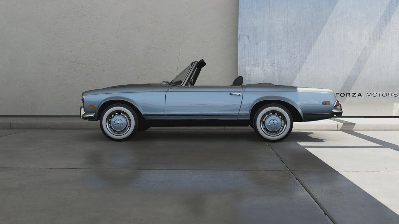 Mercedes benz 280sl car vehicl wrap mercedes benz merced pagoda - Forza Motorsport 6 1967 Mercedes Benz 280 Sl