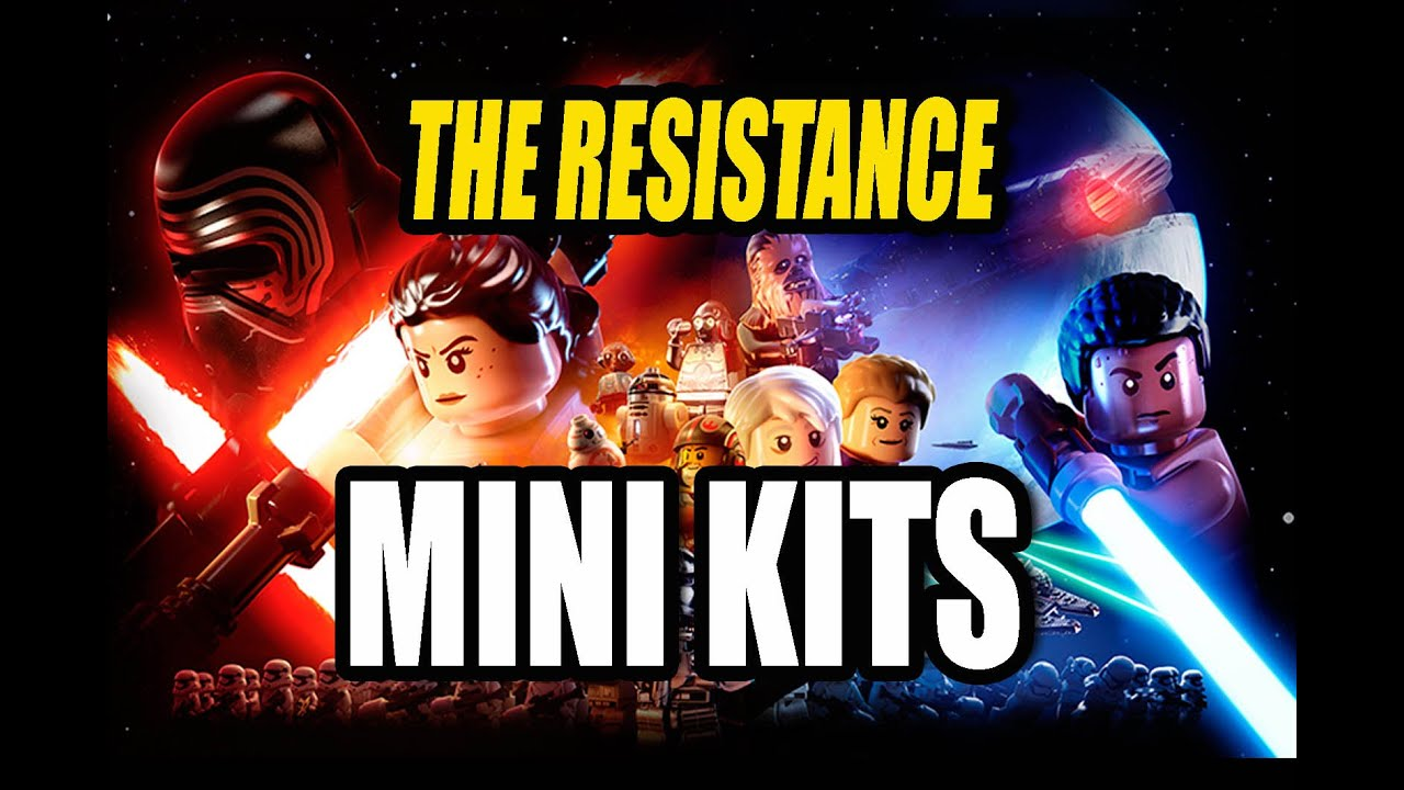 lego star wars the force awakens chapter 7 the resistance