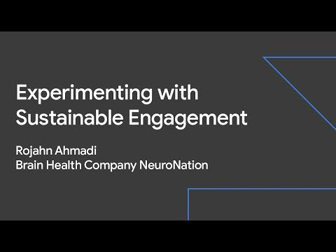 Experimenting with Sustainable Engagement (Sustainable Growth Day '19)