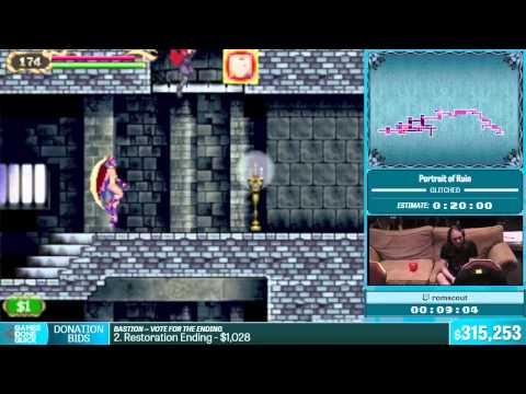 Portrait of Ruin by romscout in 17:28 - Summer Games Done Quick 2015 - Part 59