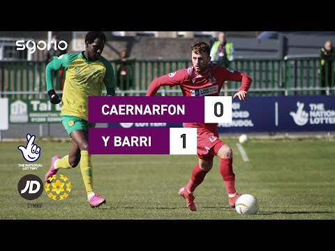 Caernarfon Barry Goals And Highlights