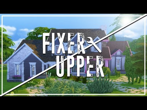 TRASHED TRADITIONAL // The Sims 4: Fixer Upper - Home Renovation
