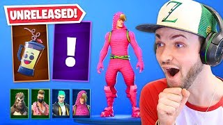 NEW *UNRELEASED* skins + leaks in Fortnite!