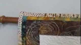 Hanging Fiber Art Quilts