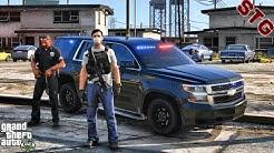 UNMARKED TAHOE| GANG UNIT PATROL!!!| #146 (GTA 5 REAL LIFE PC POLICE MOD)