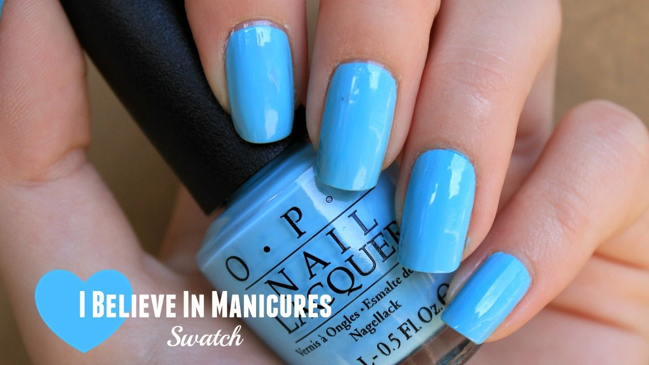 Opi I Believe In Manicures Swatch Breakfast At Tiffany S Collection Princess The Polish