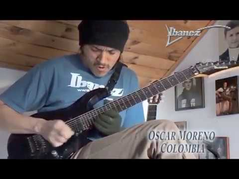 Ibanez Flying Fingers 2017 - Oscar Moreno - Chia -