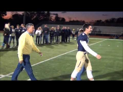 La Salle College High School Football - 2015 Senior Night Ceremony
