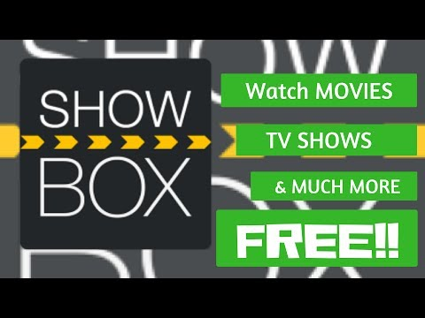 SHOWBOX APP - Watch TV Shows, Movies And Much More For FREE!!