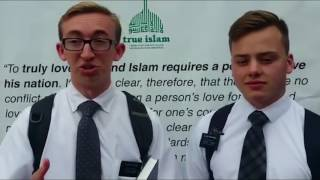 MKA News: True Islam Campaign in Kirkcaldy, Scotland