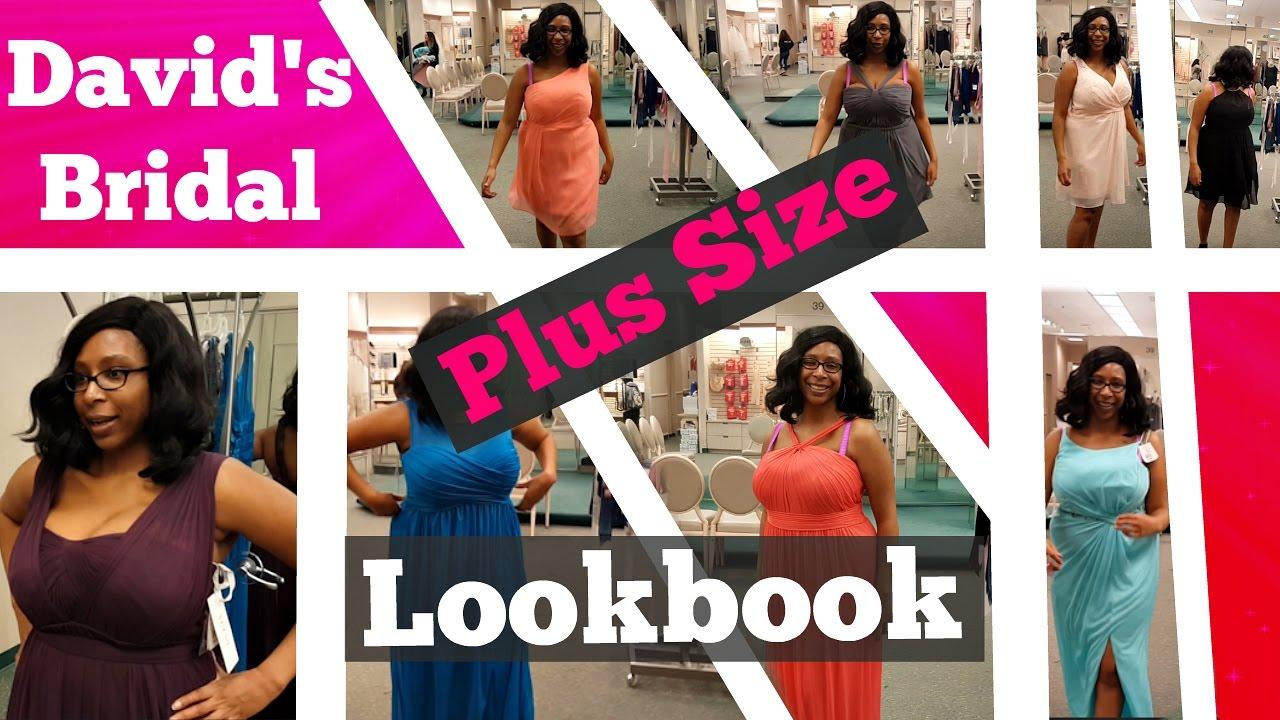 David's Bridal Plus Size BridesMaid Dresses Lookbook ...