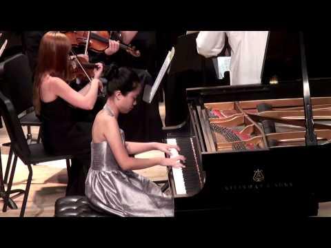 Gabrielle Hsu, Age 13, Chopin Piano Concerto No 1 in E minor, Op. 11, I. Allegro maestoso