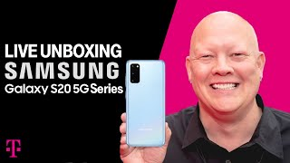 Samsung Galaxy S20 5G, S20+ 5G, S20 Ultra 5G Live Unboxing with Des | T-Mobile