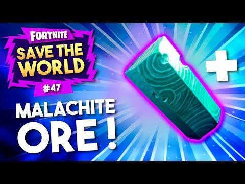 ZOVEEL MALACHITE?! - Fortnite Save The World #47