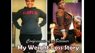 My Weight Loss Story: God's Work in Progress