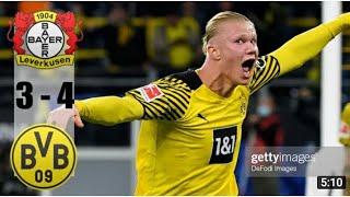 B.Leverkusen  3-4 B.Dortmund Highlights - Maç Özeti 11.09.2021