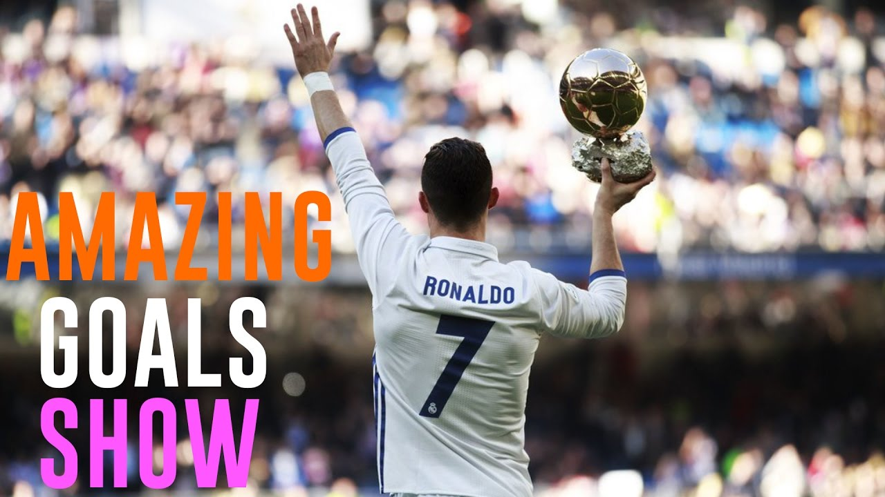 Cristiano Ronaldo  Amazing Goals Show 20162017 Youtube