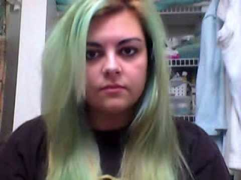 vitamin c hair treatment trying to fade out green stained hair dye youtube