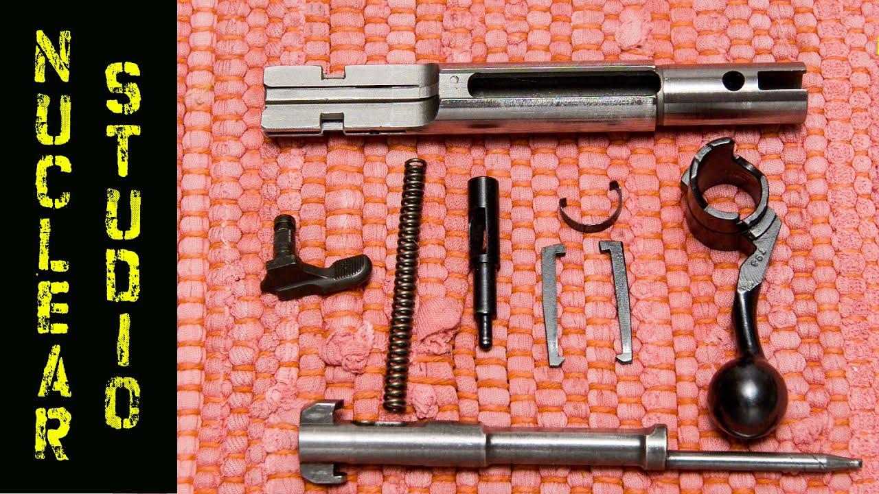 CZ 452 - Full bolt disassembly