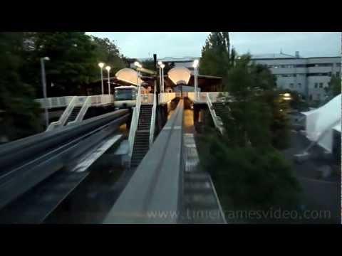 SEATTLE MONORAIL RIDE - HD - Super Fast