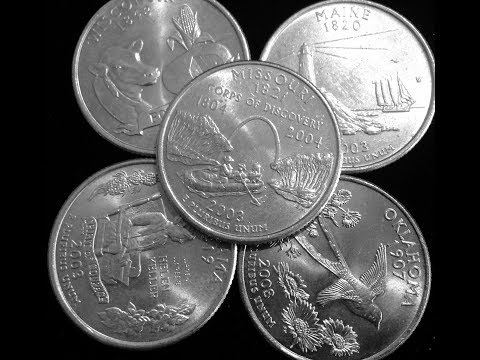 Top 5 Hardest To Find State Quarters