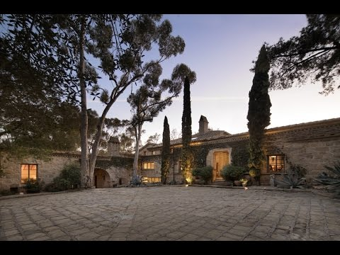 Ellen DeGeneres and Portia de Rossi's Romantic Villa in Montecito, California