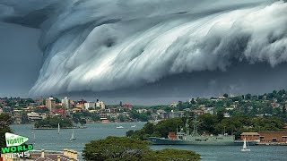 Massive 'Cloud Tsunami' Rolls over Sydney || World News