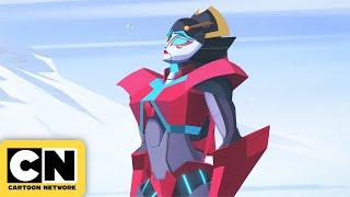 Transformers Cyberverse   Snowy Memories   Cartoon Network