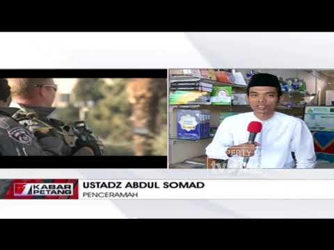 Pendapat Ustadz Abdul Somad Menanggapi Keputusan Donald Trump Soal Yerusalem