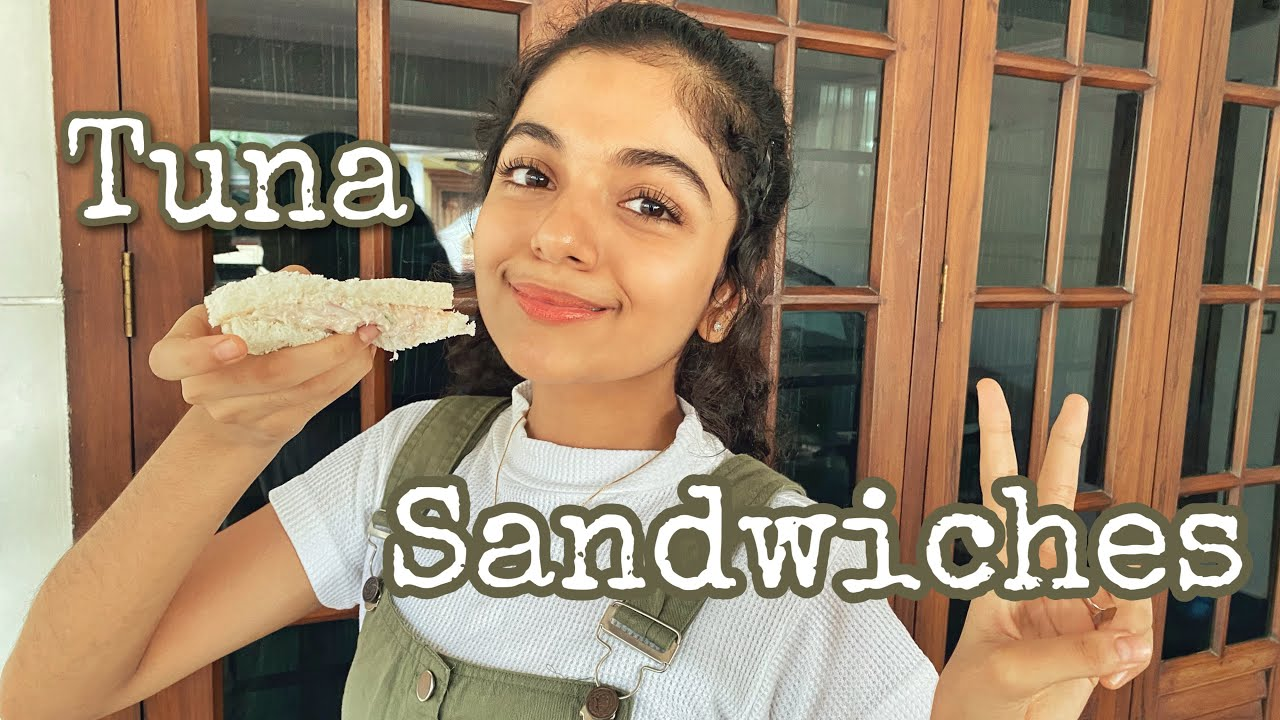 Here's how we make Tuna Sandwiches 🥪 | Hansika Krishna
