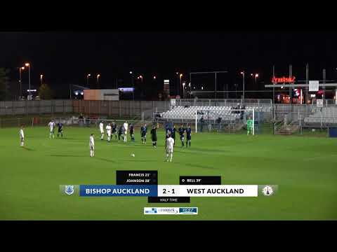 Bishop Auckland v West Auckland Wednesday 6th September 2017 7:45pm Kick Off Highlights