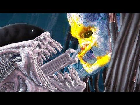 Mortal Kombat X Alien All Fatalities Fatality Brutality Brutalities Ending Gameplay