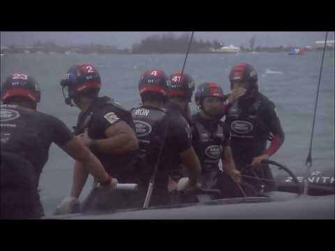 America's Cup Challenger Playoffs Continue, June 6 2017